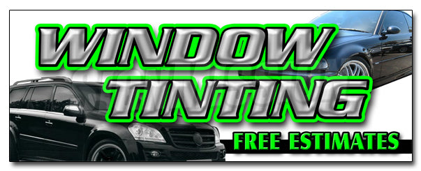 Window Tinting Free Esti Decal