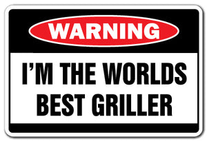Worlds Best Griller Vinyl Decal Sticker
