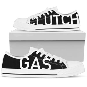 GAS CLUTCH™ Men's (WHTE/BLK)