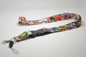 STICKER BOMB LANYARD