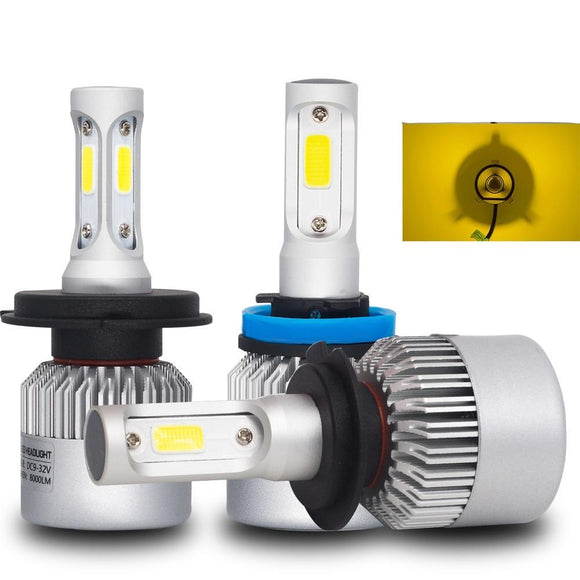 3000K LED Headlight Bulbs