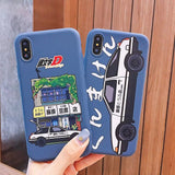 INITIAL D AE86 Iphone Case