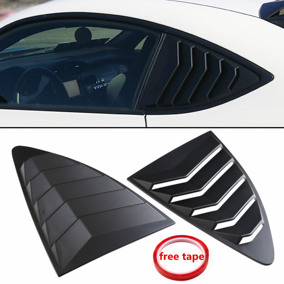 GT86/BRZ/FR-S Rear Quarter Window Louver