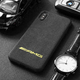 Suede Car Brand Phone Cases