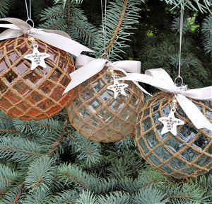 beach christmas ornaments, coastal christmas decor