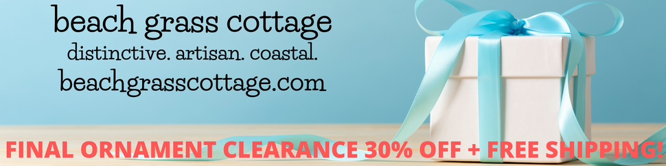 Beach Grass Cottage - Artisan Handmade Beach Decor