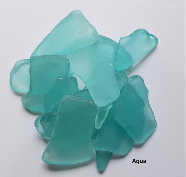 aqua sea glass, aqua beach glass, aqua seaglass, sea glass by the pound, bulk sea glass, bulk beach glass