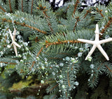 Beach Wedding Decor Nautical Starfish Garland, Starfish Christmas Garland, Coastal Decor - AQUA, 5FT
