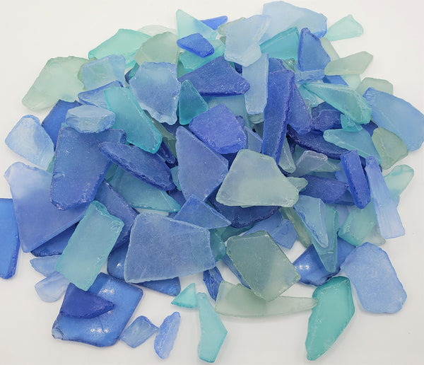 Bulk Sea Glass, Bulk Beach Glass, Bulk Sea Glass Decor, Beach Wedding Decor, 2 POUNDS- OCEAN MIX