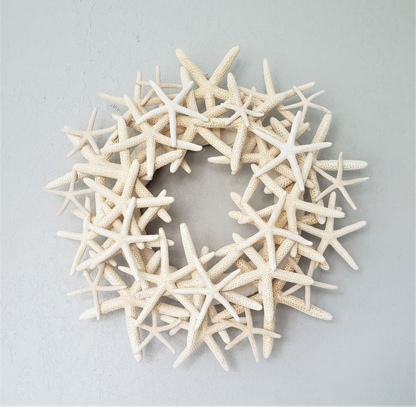 starfish wreath, star fish wreath, coastal wreath, beach wreath, nautical wreath