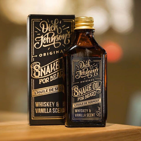 Huile à Barbe Snake Oil Dick Johnson 's Whiskey & Vanilla
