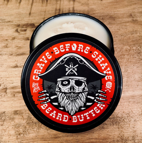Beurre à Barbe Beard Butter Bay Rum GRAVE BEFORE SHAVE