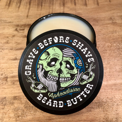 Beurre à Barbe Beard Butter Aphrodisiac GRAVE BEFORE SHAVE