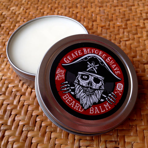 Baume à Barbe Bay Rum GRAVE BEFORE SHAVE