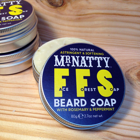 Savon à Barbe Face Forest Soap MR NATTY