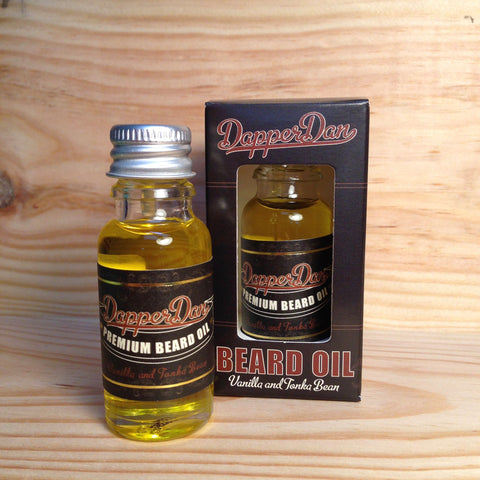 Huile à Barbe Premium Beard Oil Vanille Tonka DAPPER DAN 15 ml