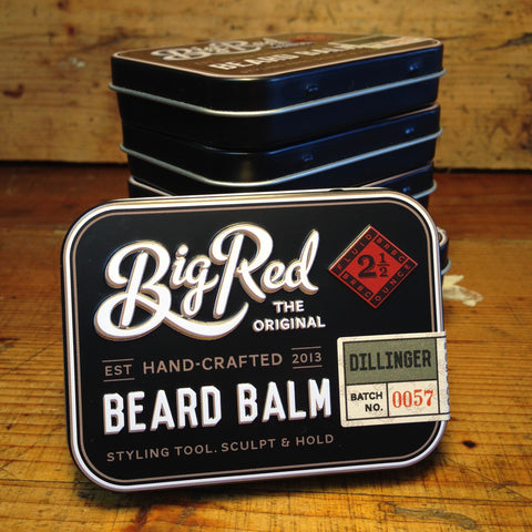 Baume à barbe Dillinger BIG RED 70 gr