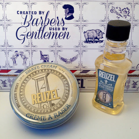 Pack Crème à raser + After-Shave REUZEL