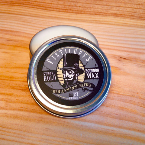 Cire à Moustache Strong Hold Gentlemen's Blend GRAVE BEFORE SHAVE Fisticuffs