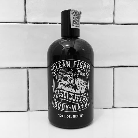 Gel Douche Bay Rum Clean Fight GRAVE BEFORE SHAVE