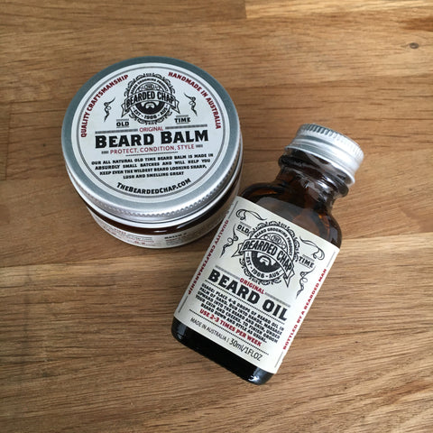 Pack découverte huile + baume Old Time THE BEARDED CHAP