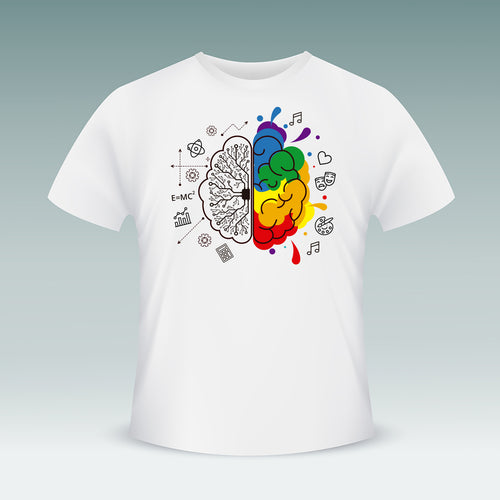 Creative Mind T-shirt (White)