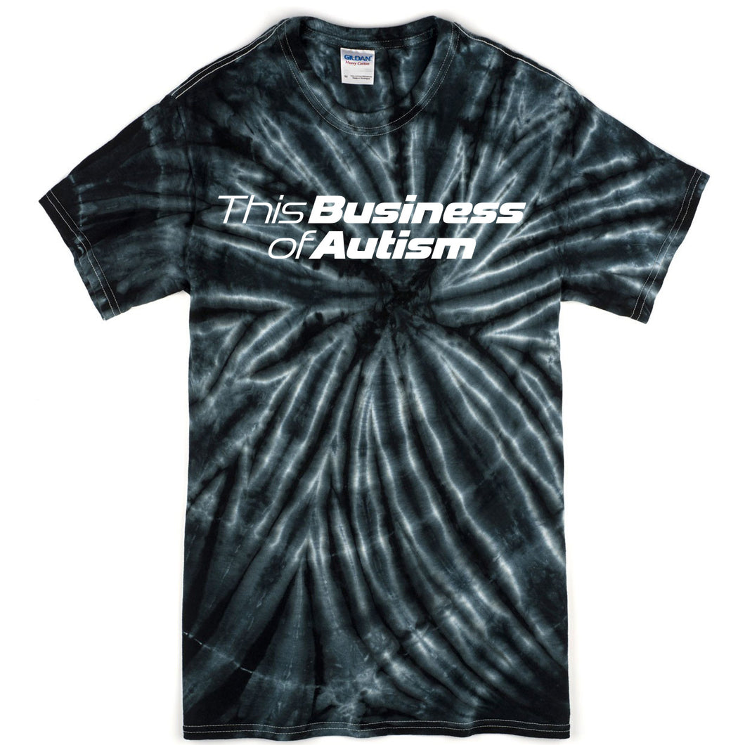Short Sleeve Tie-Dye (Black)