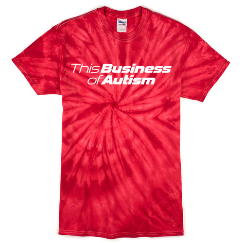 Short Sleeve Tie-Dye (Red)