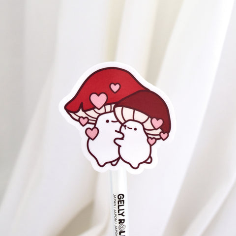 Love You So MUSH - Mushroom Sticker