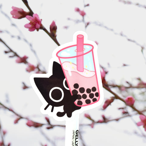 Scaredy Cat Boba - Sticker