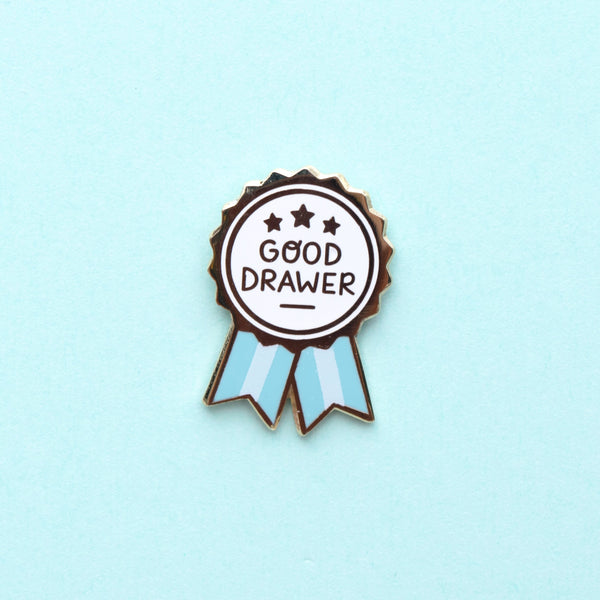 Good Drawer Pin - Blue