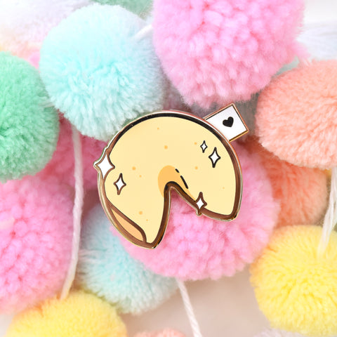 Fortune Cookie Slider Pin