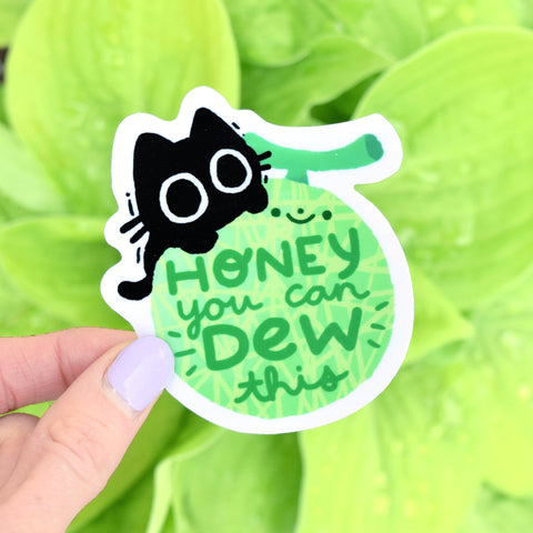 Scaredy Cat HoneyDEW This - Sticker