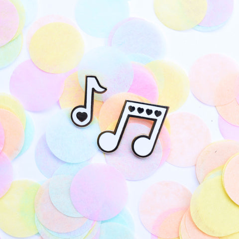 Love Notes Music Pin Set