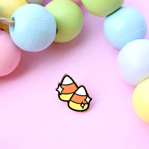 Candy Corn Mini Enamel Pin