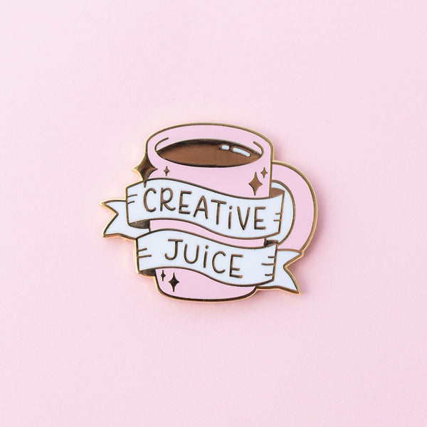 Creative Juice Enamel Pin