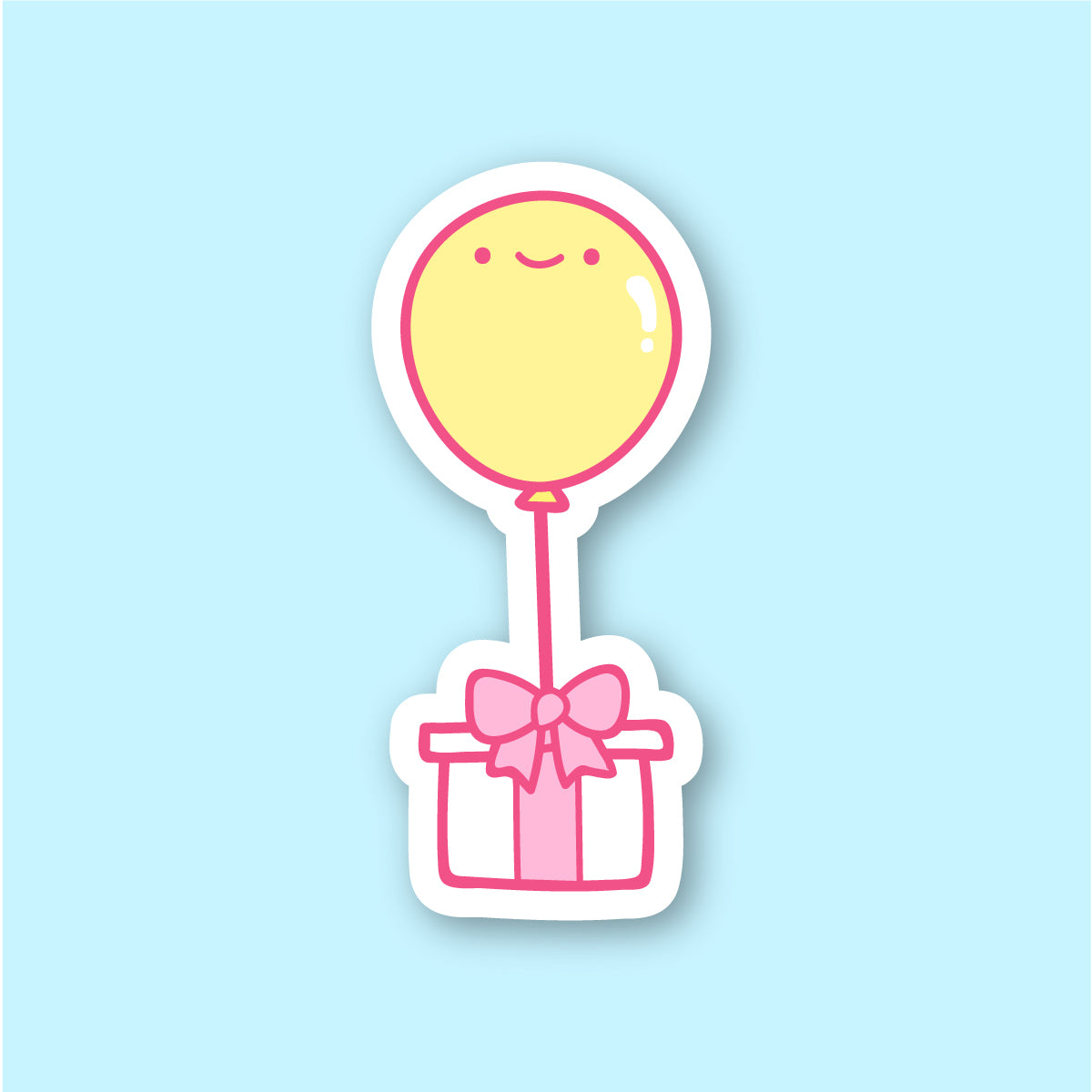 Surprise Balloon Gift Sticker