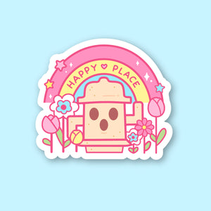 Happy Place Gyroid Sticker