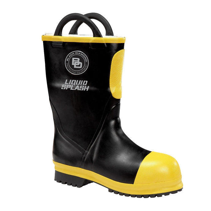 Short Rubber Firefighter Boot
