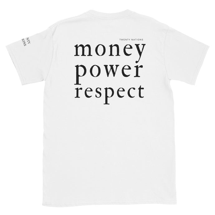 MONEY, POWER, RESPECT (BLACK) Tee