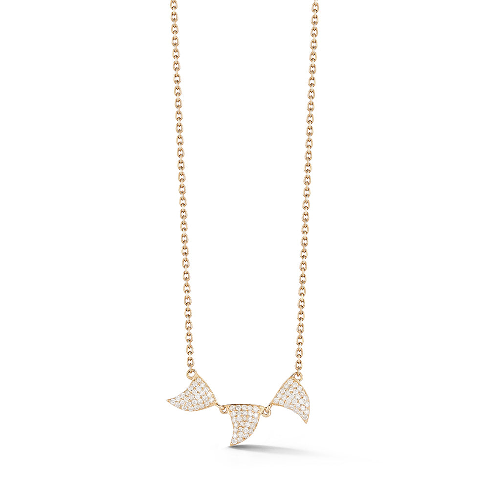 Ondas Trio Necklace