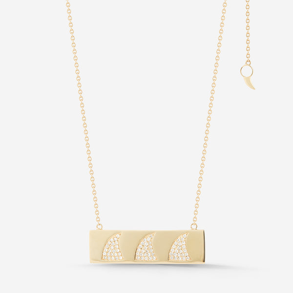 Marea Ingot Pendant Necklace