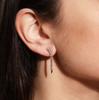 Short Continuum Earring