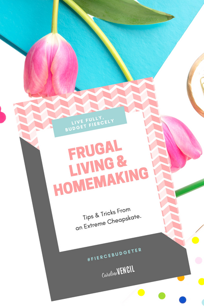 Frugal Living & Homemaking Bundle {16 Mini eBooks- 65 pages}