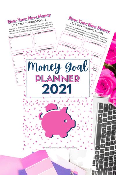 Money Goal Planner {3 pages}