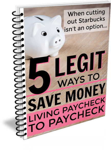How to Save Money When You Live Paycheck-to-Paycheck