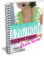 How To Make $20 an Hour Teaching English from Home