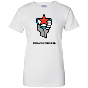 One Nation Under God - Ladies' T-Shirt