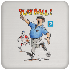 """Play Ball"" Coaster"