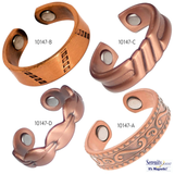 """Super Ring"" Copper Rings Collection"